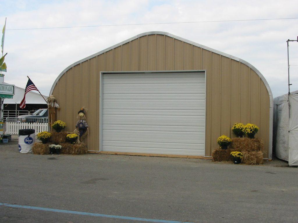 Quonset Hut Garage : Quonset garages powerbilt steel buildings incpowerbilt