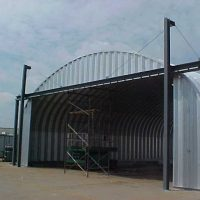 Quonset Hut Buildings 2384