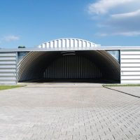 Quonset Hut Buildings 2385