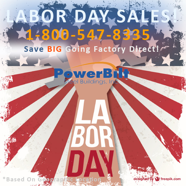 Powerbilt Labor Day Sale