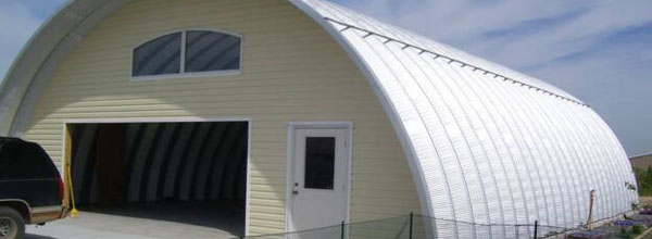 Quonset Hut With Window And Door
