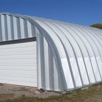 Quonset Hut Buildings 1985