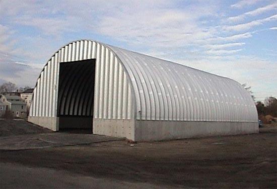 Quonset Storage Buildings Quonset Steel Storage Buildings