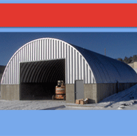 Quonset Hut Buildings 619