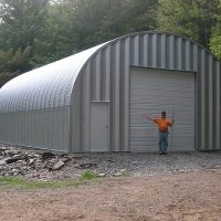 Quonset Hut Buildings 1579