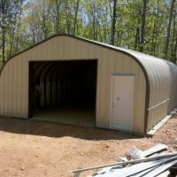 Quonset Hut Buildings 1591