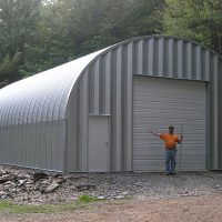 Quonset Hut Buildings 2262