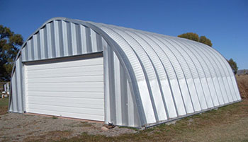 A model Quonset Huts
