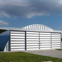 Quonset Hut Buildings 2531