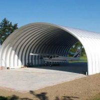 Quonset Hut Buildings 2532
