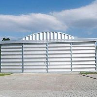 Quonset Hut Buildings 2534