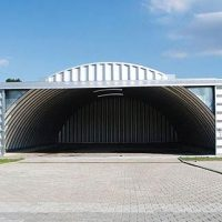 Quonset Hut Buildings 2535