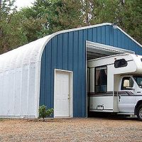 Quonset Hut Buildings 2493