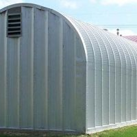Quonset Hut Buildings 2544