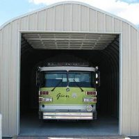 P-Model Quonset Style Garage