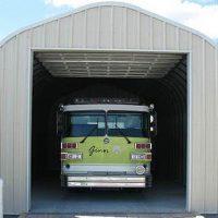 P-Model Quonset Style Garage