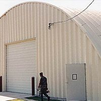 Quonset Hut Buildings 2548