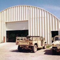 Quonset Hut Buildings 2549