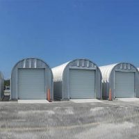 Quonset Hut Buildings 2526