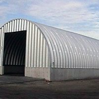 Quonset Hut Buildings 2527