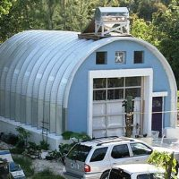 Workshop S Model Quonset Style Building