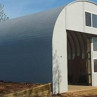 Quonset Hut Buildings 2506