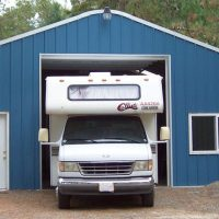 RV Garage Qounset