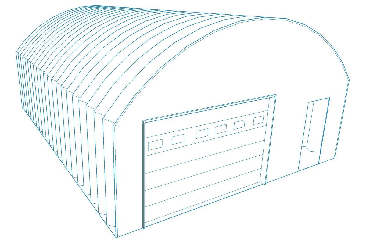 Quonset 3D Design