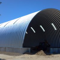 Quonset Hut Buildings 3073